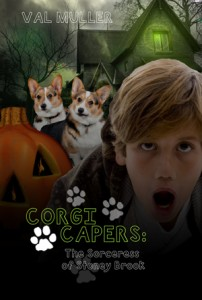 Halloween-themed Corgi Capers 2, now just $2.99 for Kindle (also available in paperback)