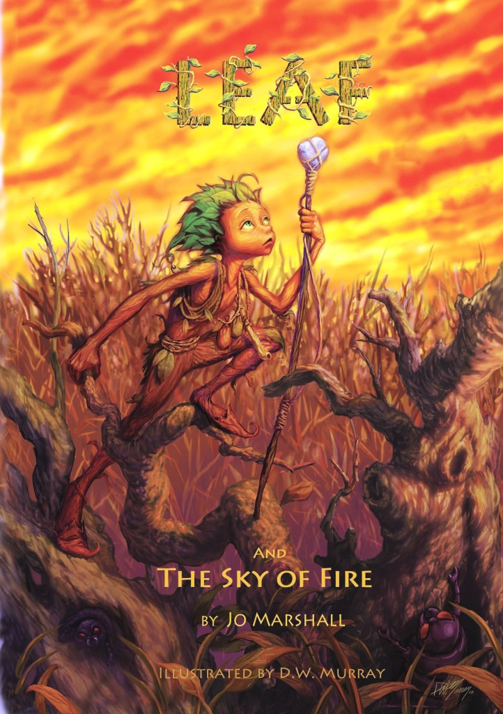 Cover - Leaf & the Sky of Fire