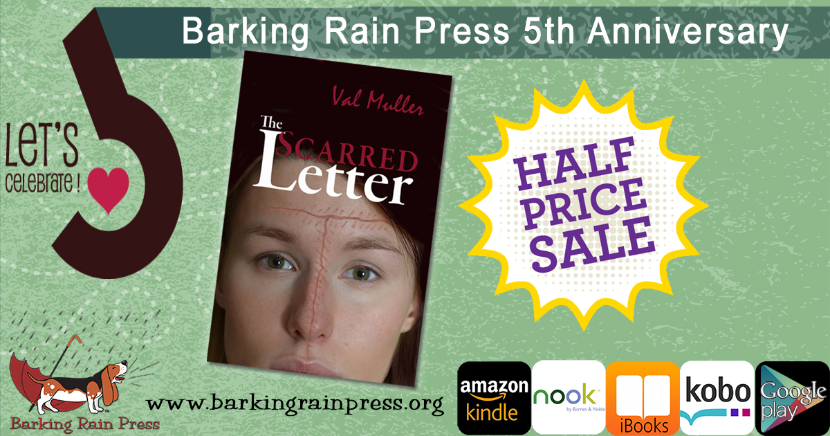 scarred letter anniversary sale